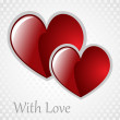 Stock Photo: Vector background Day Valentine