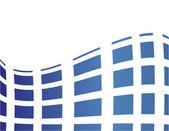 El fondo abstracto azul vector — Vector de stock