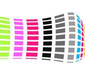 Renkli vektör arka plan — Stok Vektör