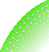 El fondo abstracto vector verde — Vector de stock