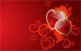 Le fond de jour de valentines vector — Vecteur