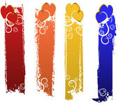 Vector color banners set — Stock Vector