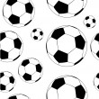 Soccer&#039;s ball seamless - Stock Photo