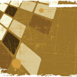 The brown vector abstract background — Stock Photo