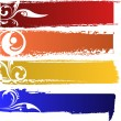 Vector color banners set — Stock Photo #9381537