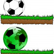 Royalty-Free Stock Vector Image: The vector abstract sport soccer background