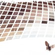 The brown vector abstract background — Stock Vector