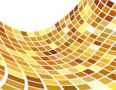 Abstraktní pozadí vektor zlatý — Stock vektor