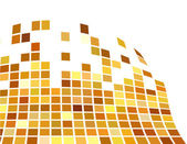 The vector golden abstract background — Stock Vector