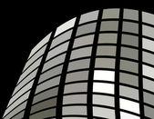 El fondo abstracto vector plata — Vector de stock