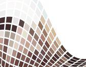 De vector bruin abstracte achtergrond — Stockvector