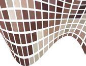 El fondo abstracto vector marrón — Vector de stock