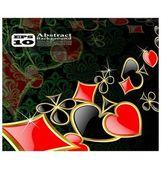 O vetor abstrato peça cartão fundo eps 10 — Vetor de Stock