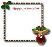 The vector Christmas and New Year banner — Stock Vector