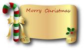 вектор рождество и новый год баннер — Cтоковый вектор