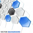 Abstract Vector Technology Background — Stock Vector