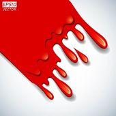 L'arrière-plan de sang abstract vector — Vecteur