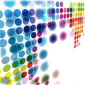 El fondo de color abstracto vector — Vector de stock