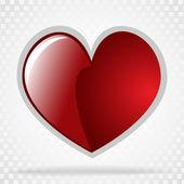 Vektor Hintergrund Tag Valentinstag — Stockvektor