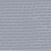 Grey grunge bricked wall background — Stock Vector