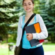 Student outdoor — Stock Photo #10531578