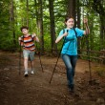 Girl and boy walking — Stock Photo #10531689