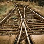 Railway tracks — Stock Photo #9535351