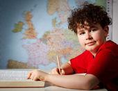 学習の少年 — ストック写真