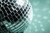 Disco pozadí s zářící světla — Stock fotografie