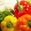 Stock Photo: Fresh Vegetables. Fruits and other foodstuffs.