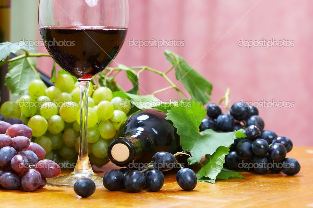 Wine composition — Stock Photo #10514917
