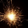 Christmas sparkler — Stock Photo #10520063