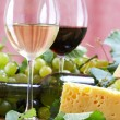Wine and Cheese still life — Stock Photo #10520118