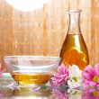 Aromatic oils - 图库照片