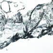 Water splashing — Photo #10529573