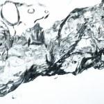 Water splashing — Stock Photo