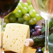 Wine and Cheese still life — Stock Photo #10530324