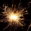 Christmas sparkler — Stock Photo #10554592