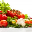 Fresh Vegetables, Fruits and other foodstuffs. — Stock Photo #10603982