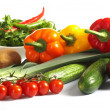 Fresh Vegetables, Fruits and other foodstuffs. — Stock Photo #10605772