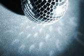 Fond disco avec lumières rougeoyantes — Photo