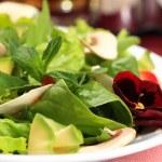 Salad flowers — Stock Photo #10644073
