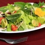 Salad flowers — Stock Photo #10644417