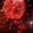 Firework in honor of Independence Day — Stock Photo #10670041
