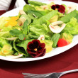 Salad  flowers - Foto Stock