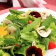 Salad flowers — Stock Photo #10673086