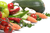Low-calorie vegetables — Stock Photo
