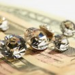Money & jewels — Stock Photo