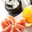 Grapefruit and balsamic vinegar — Stock Photo #9046698