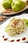 Salade van groene appels — Stockfoto